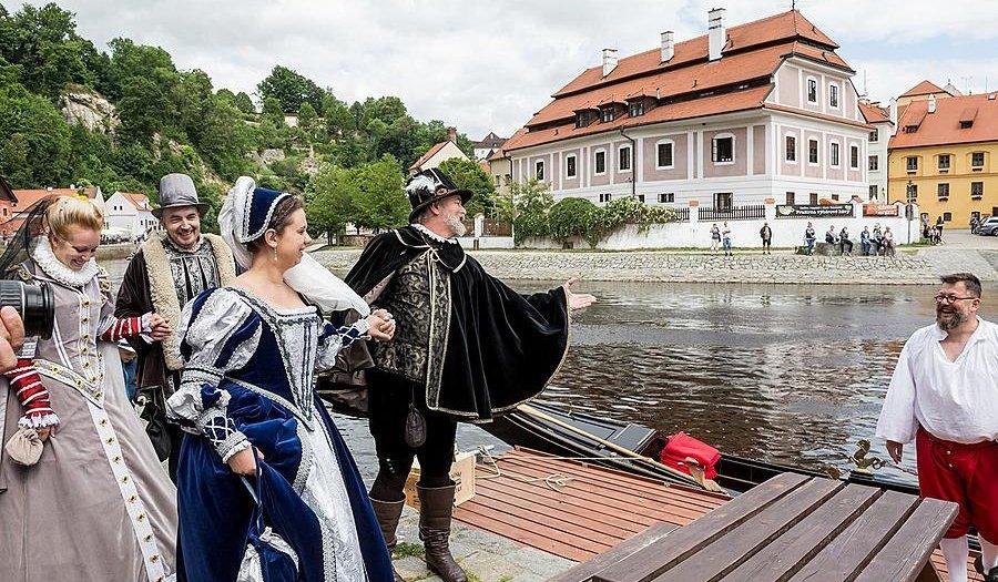 Slavnosti pětilisté růže Český Krumlov 16. - 18. 6. 2017